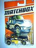 Matchbox 2011 International CXT Truck #47 BLACK