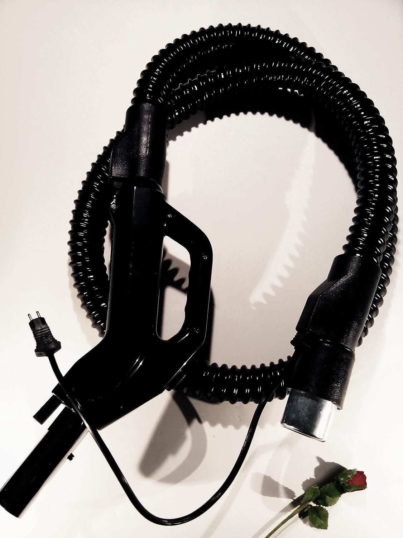 RAINBOW Manguera eléctrica del Arco Iris, de DVC wikiparts, SE adaptan D3, D4, D4C, Modelos SE, la manija Tiene sobre/Interruptor para Poder Boquilla para IR de Alfombra de Suelo, Color Negro: Amazon.es: