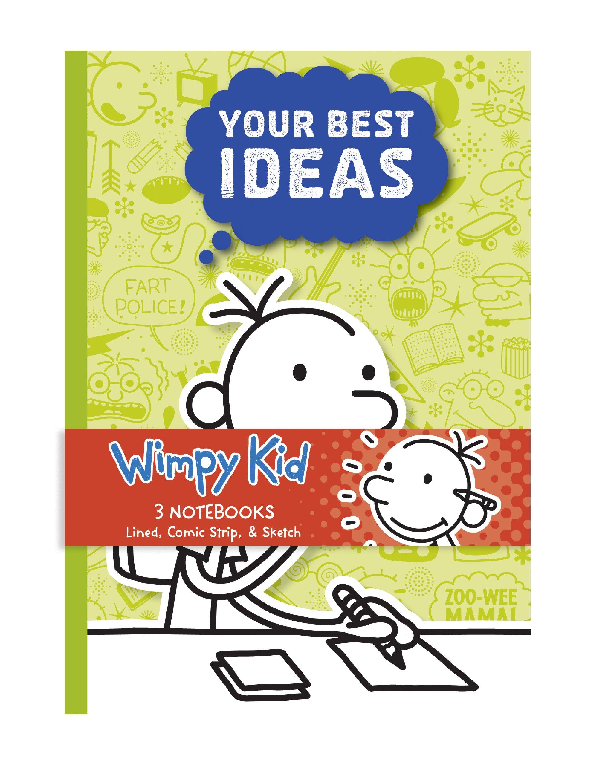 Diary of a wimpy kid 3 notebook set mudpuppy jeff kinney diary of a wimpy kid 3 notebook set mudpuppy jeff kinney 9780735338760 amazon books solutioingenieria Gallery