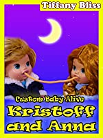 Frozen Anna Kristoff Baby Alive Eat Play-Doh Spaghetti Lady and the Tramp Style