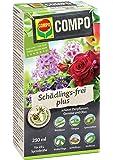 COMPO Schädlings-frei plus, Bekämpfung von Schädlingen an Zierpflanzen, 250 ml
