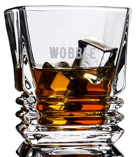 double dram shots in the dark whisky glasses set of 4 unique mens gifts for