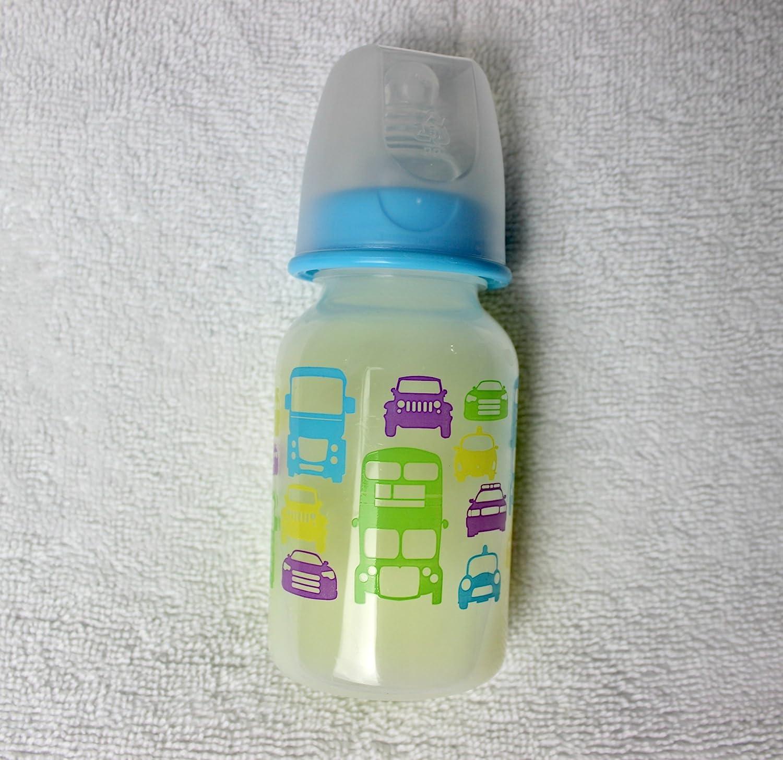 Two Ounce White Sealed Reborn Baby Fake Formula Bottle w//NO HOLE NIPPLE