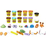 Play-Doh - Poop Troop Playset - 50+ Poo Combinations - 12 Tubs of Dough & Acc - Creative Kids Toys - Ages 3+