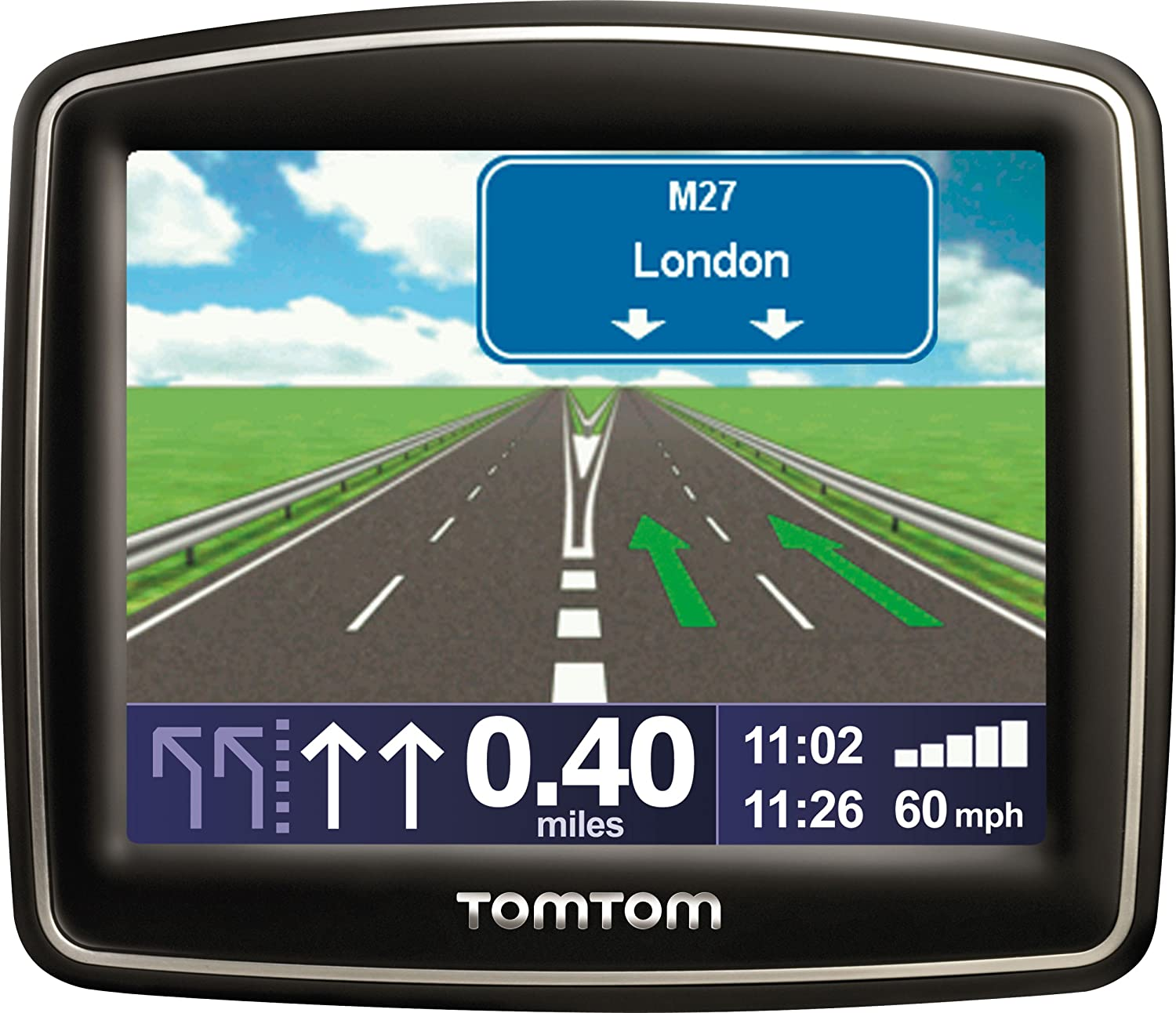 TomTom One Classic 3.5' Sat Nav with UK and Ireland Maps ONE Classic UK & RoI GPS Units Reference NavEasy port Mount tom-tom v3 gb v4 v2