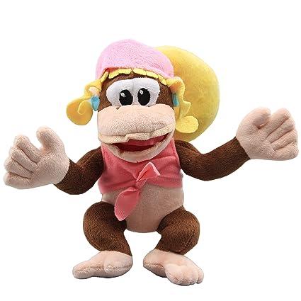 Amazoncom Uiuoutoy Super Mario Bros Dixie Kong Plush 8 Toys