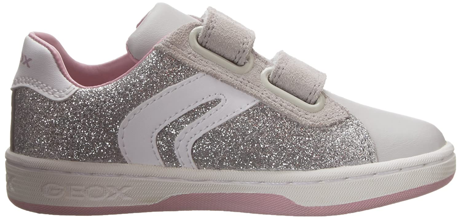 JR MANIA GIRL 6 K Toddler//Little Kid//Big Kid Geox JR Mania Girl 6 Sneaker
