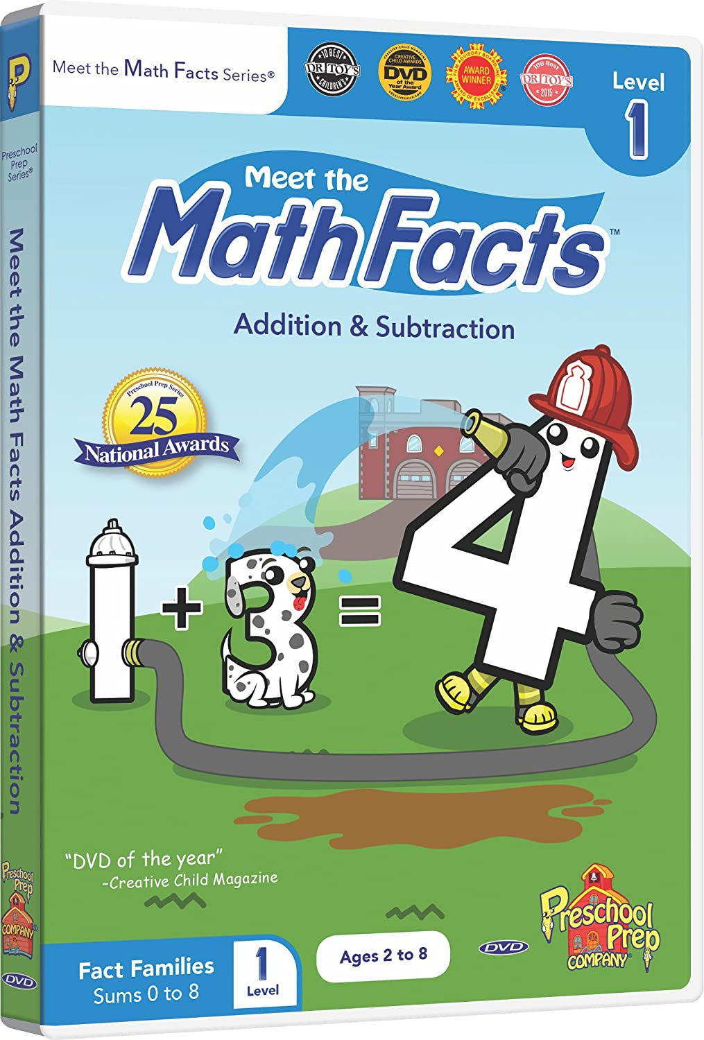 Amazon.com: Meet the Math Facts Addition & Subtraction Level 1 DVD ...