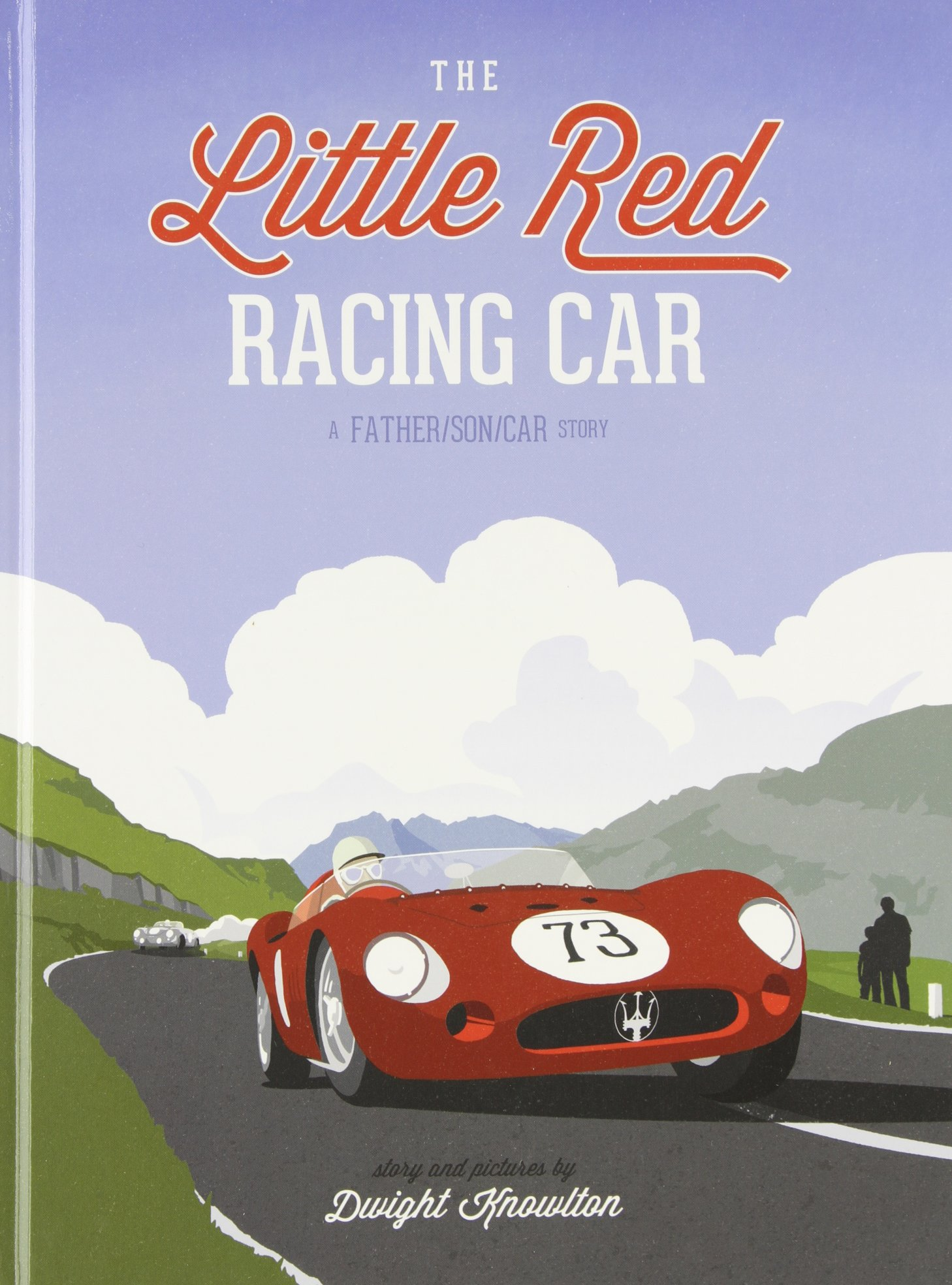 The Little Red Racing Car: Dwight Knowlton: 9780989294904: Amazon ...