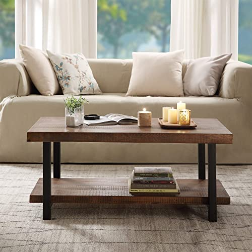 Idustrial Rustic Wood Coffee Table