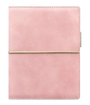 Filofax Domino - Agenda archivador de bolsillo, Novedades 2017 (Rosa palido)