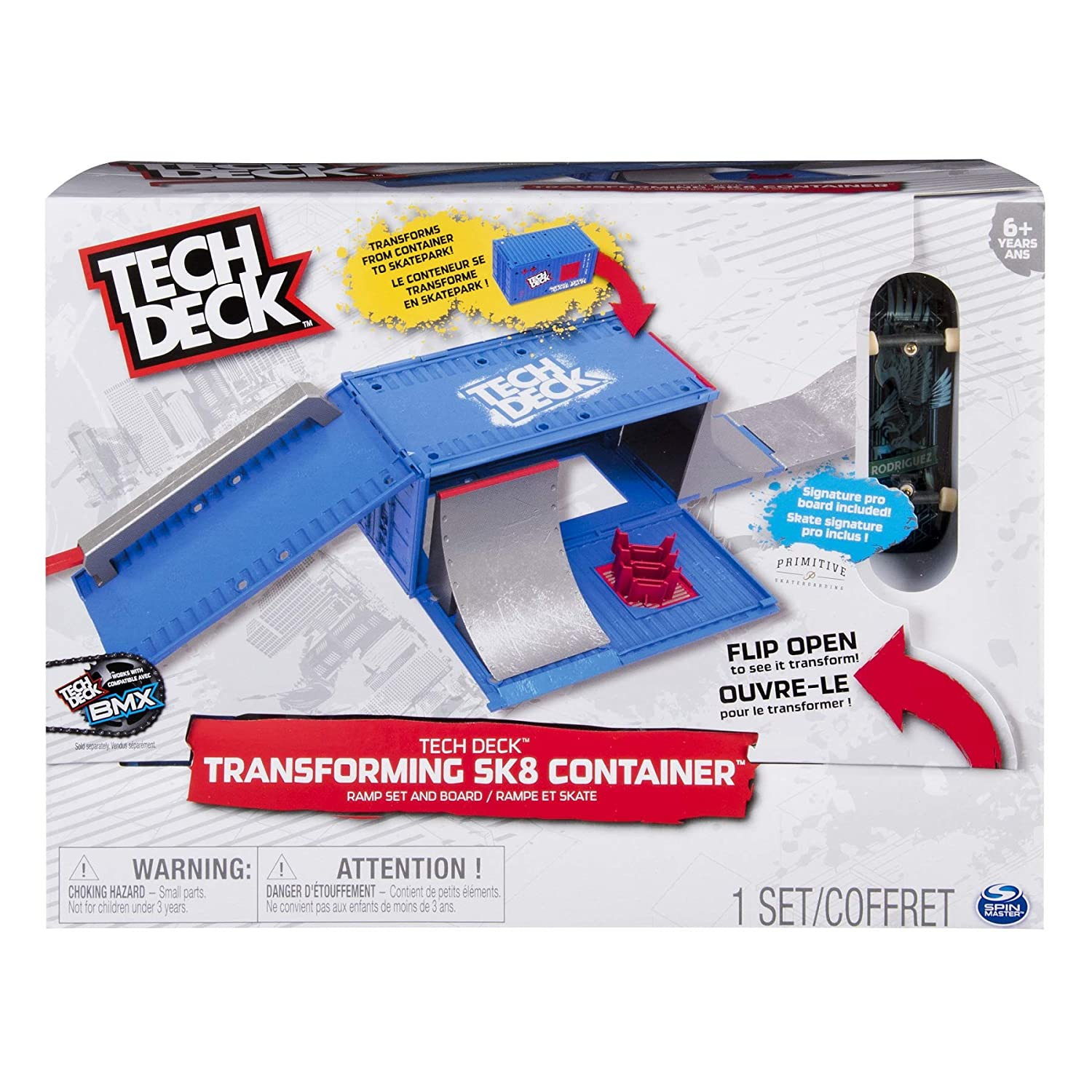 Amazon.com: TECH DECK – Transformer Ramp (Bizak 61929877 ...