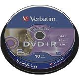 Verbatim DVD+R LightScribe 16X 4.7GB ID Brand,10 Pack, 43576 (ID Brand,10 Pack)