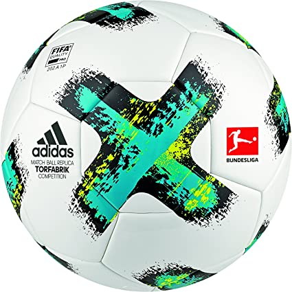 adidas Torfabrik Comp Balón, Hombre, (Blanco/Azuene/Negro/Amasol ...