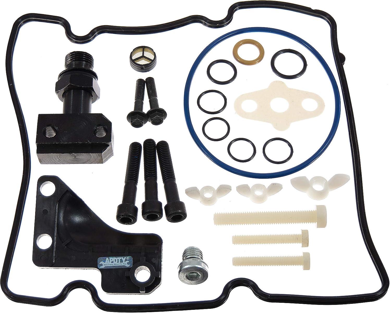 APDTY 143137 Diesel High Pressure Oil Pump HPOP /& STC Seal /& Fiting Upgrade Kit