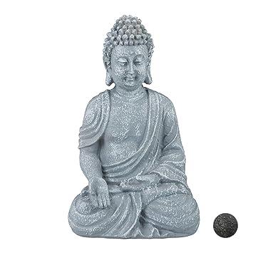 Skulptur Dekofigur Buddha Material Polyresin, Gartenfigur