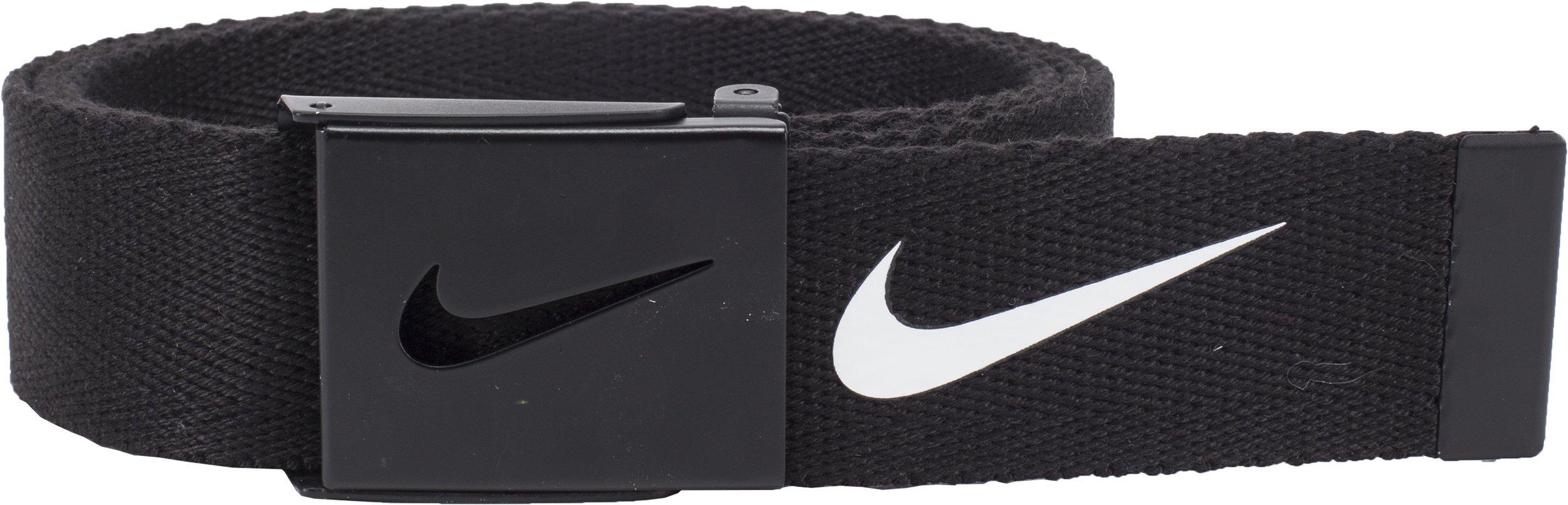 Nike Men's Tech Essential Web Belt, Black, One Size