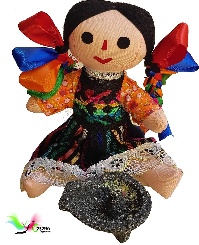braid model Mexican Rag Doll Otomi Handcrafted 13 inch
