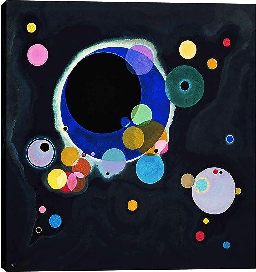 "Amazon.com: Epic Graffiti ""Several Circles by Wassily Kandinsky ..."