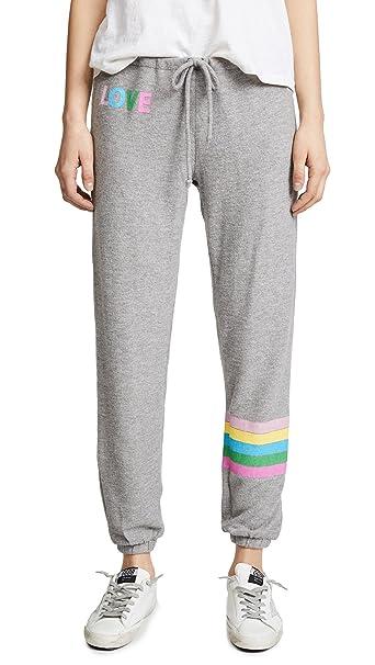 Amazon.com: Chaser Mujer Rainbow Stripe Pantalones de ...