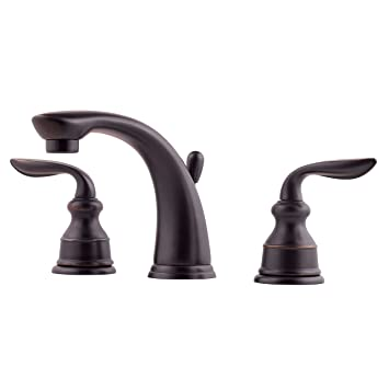Pfister FM49CBYY Avalon 2-Handle 8 Inch Widespread Bathroom Faucet in  Tuscan Bronze