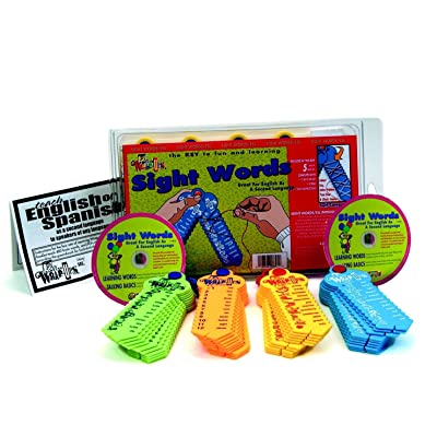 LEARNING WRAP-UPS SELF-CORRECTING Sight Words ESL Intro Kit: Toys & Games