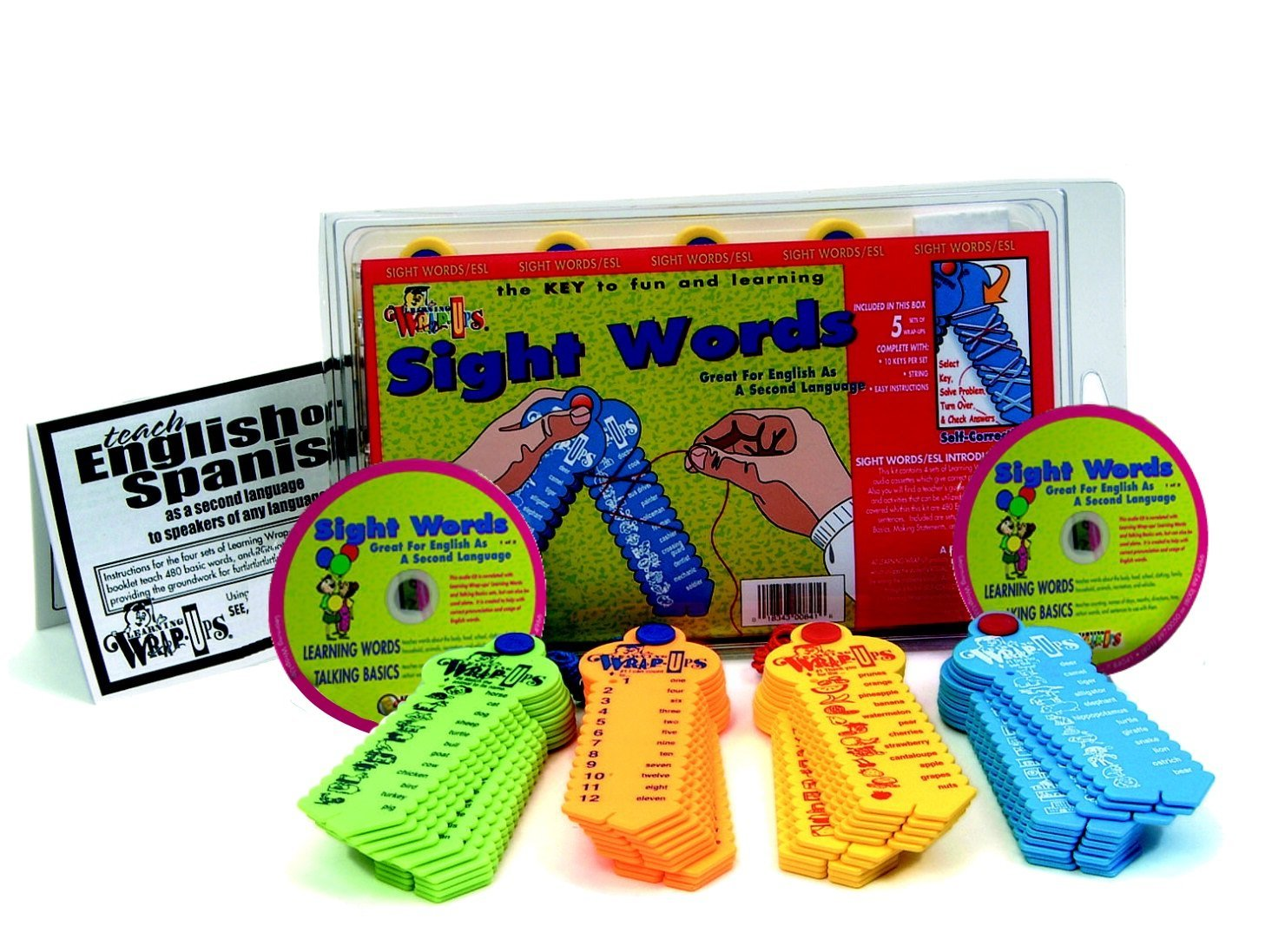 Learning Wrap Ups Sight Words ESL Intro Kit