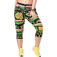 Zumba Fitness® Aktiv Weicher Stoff Haremshose Damen Stilvoll