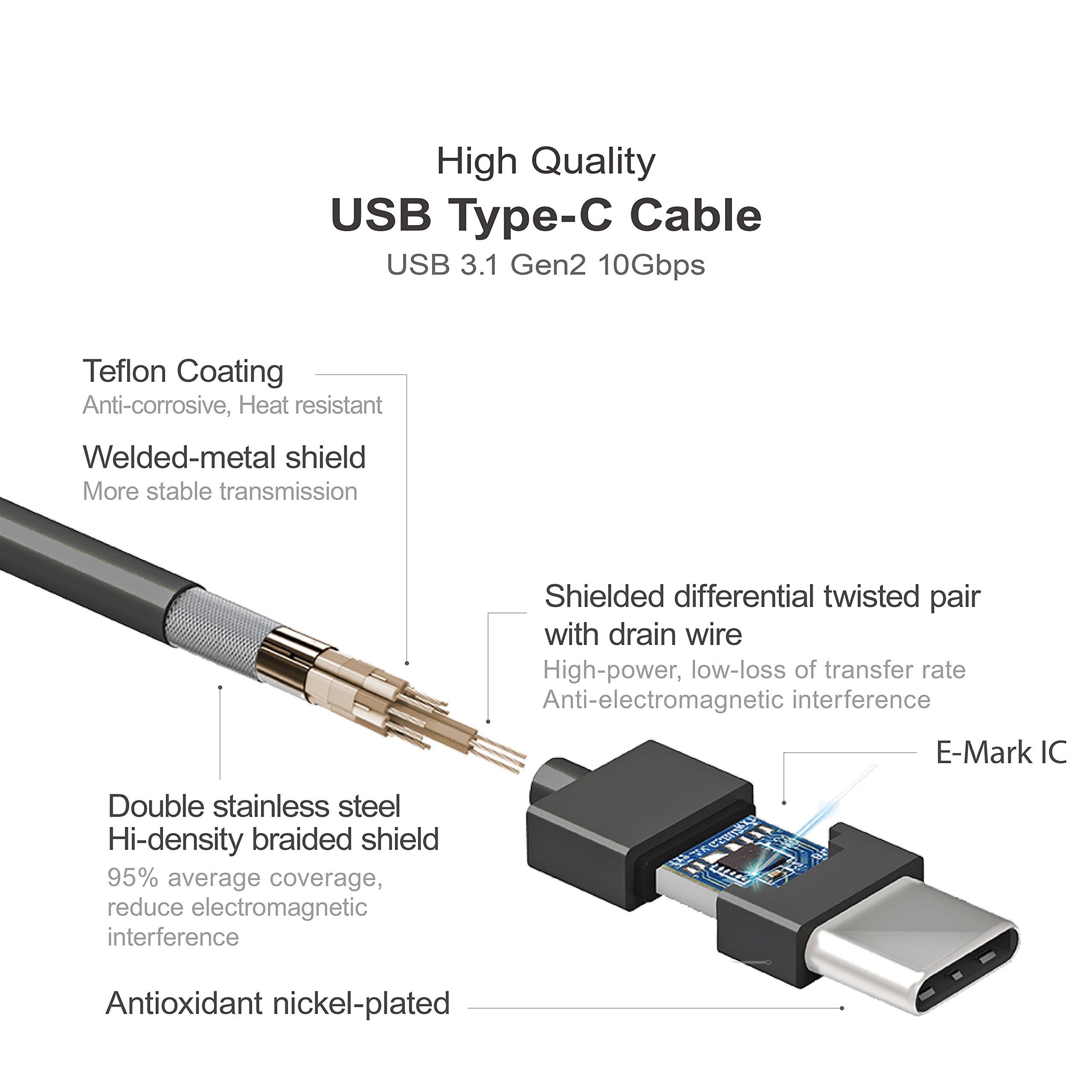 "Mediasonic USB 3.1 4 Bay 3.5"" SATA Hard Drive Enclosure – USB 3.1 Gen 2 10Gbps Type C / USB-C (HF7-SU31C) – Certified Refurbished by Mediasonic (Image #5)"