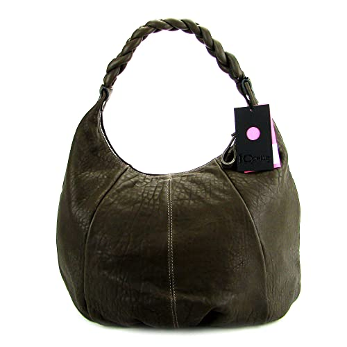 Amazon.com: IO Pelle italiana Made Bolsa Hobo grande con ...