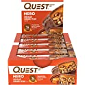 20-Count Quest Nutrition Chocolate Caramel Pecan Hero Protein bar