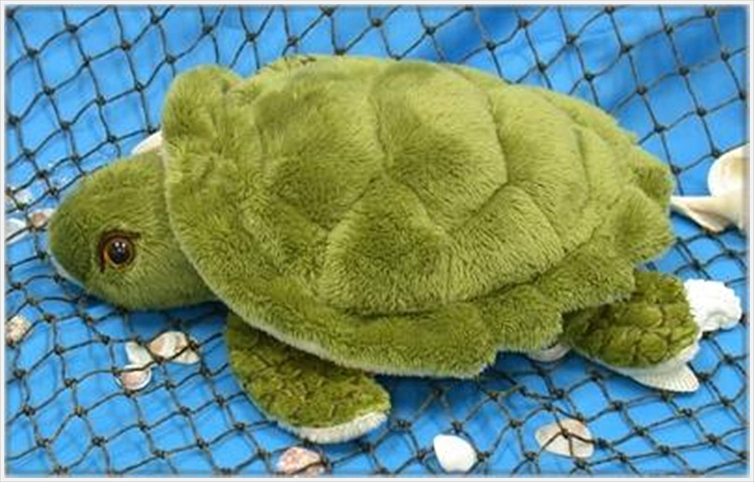 "Wishpets Stuffed Animal - Soft Plush Toy for Kids - New - 10"" Small Sea Turtle"