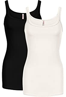 8bdc9e93048391 Cami Tank Tops for Women Reg and Plus Size Womens Camisoles Workout Top -  Made in