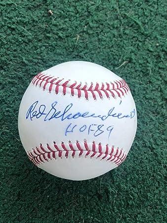 81244d65c76 St. Louis Cardinals Red Schoendienst Autographed Signed Baseball ...