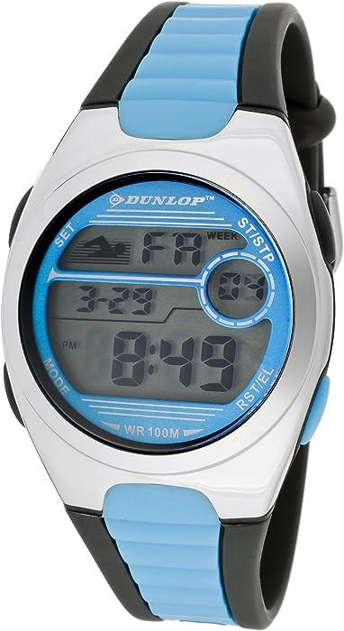Dunlop DUN-194-M03 - Reloj Digital Para Mujer, color LCD/Multicolor