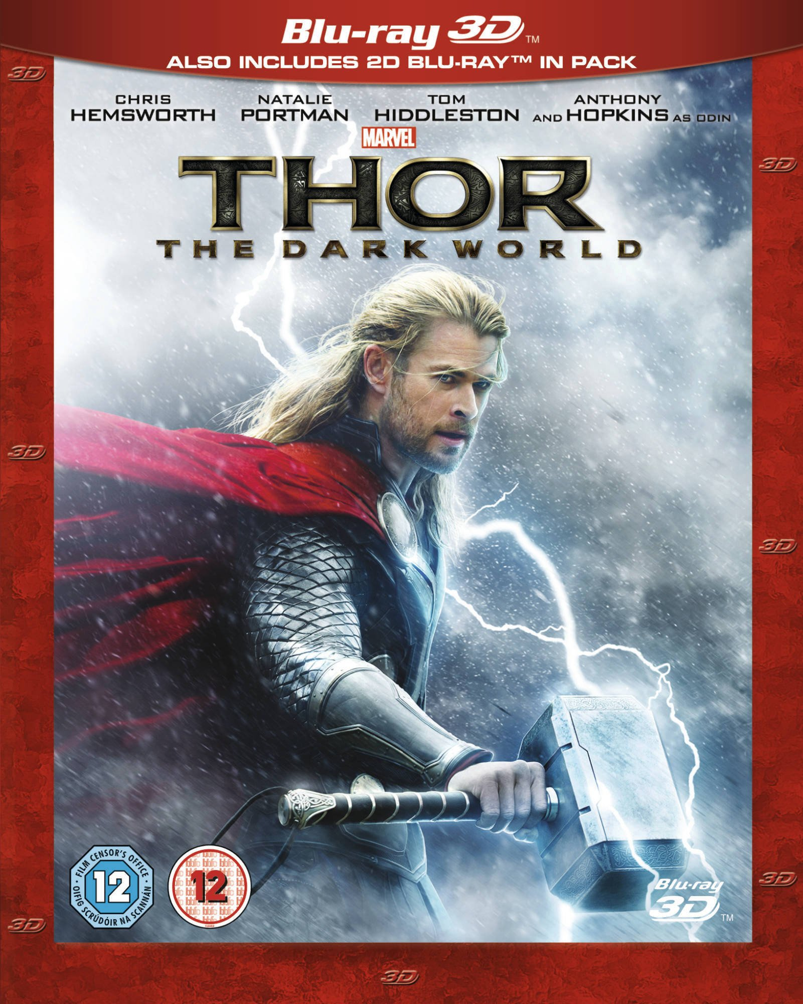 Thor: The Dark World 2013  Region Free