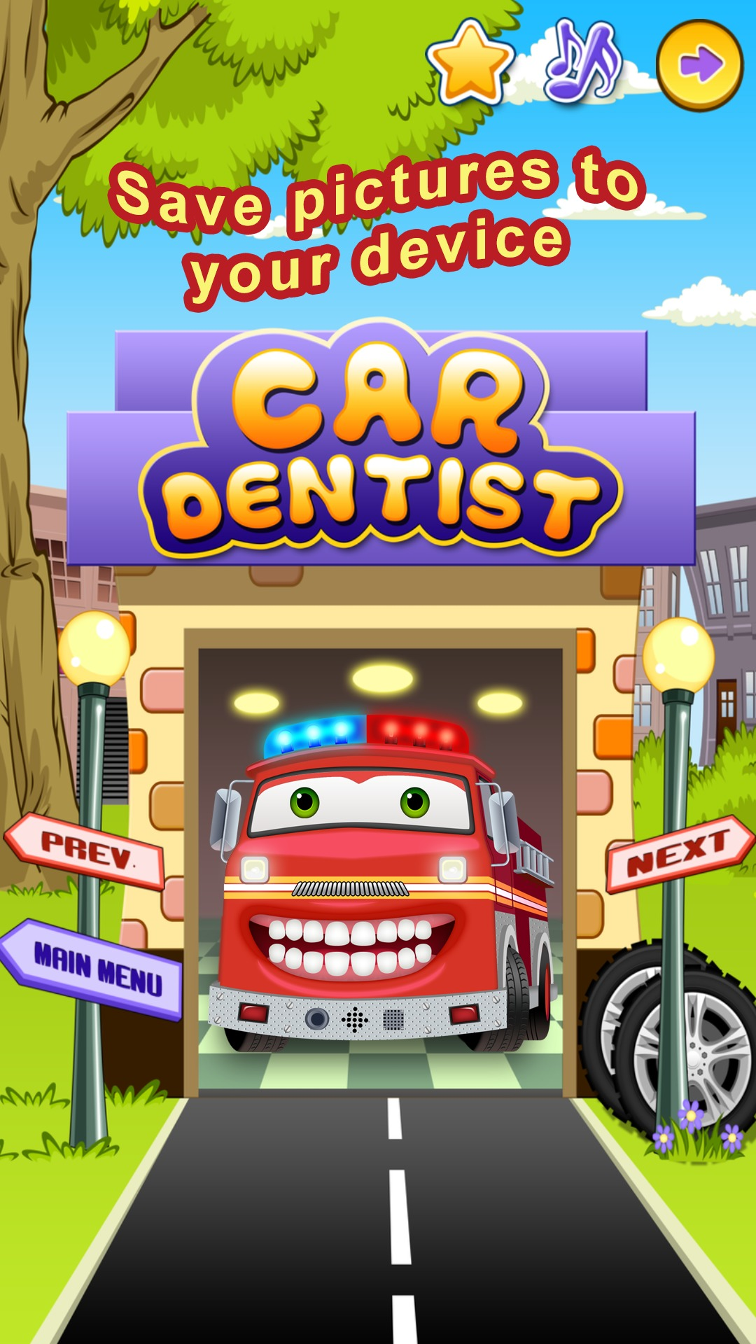 Fixing Cars Games For Kids