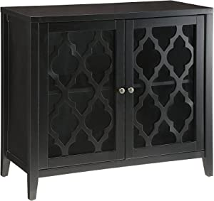 Acme Furniture 97382 Ceara Cabinet, Black, One Size