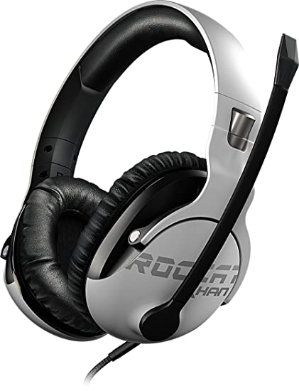 fefc6e0761f Amazon.com: ROCCAT Khan Pro - Competitive High Resolution Gaming Headset,  White: Computers & Accessories