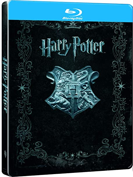 Harry Potter Mtl Pck 8 Blu-Ray [Blu-ray]: Amazon.es: Daniel ...