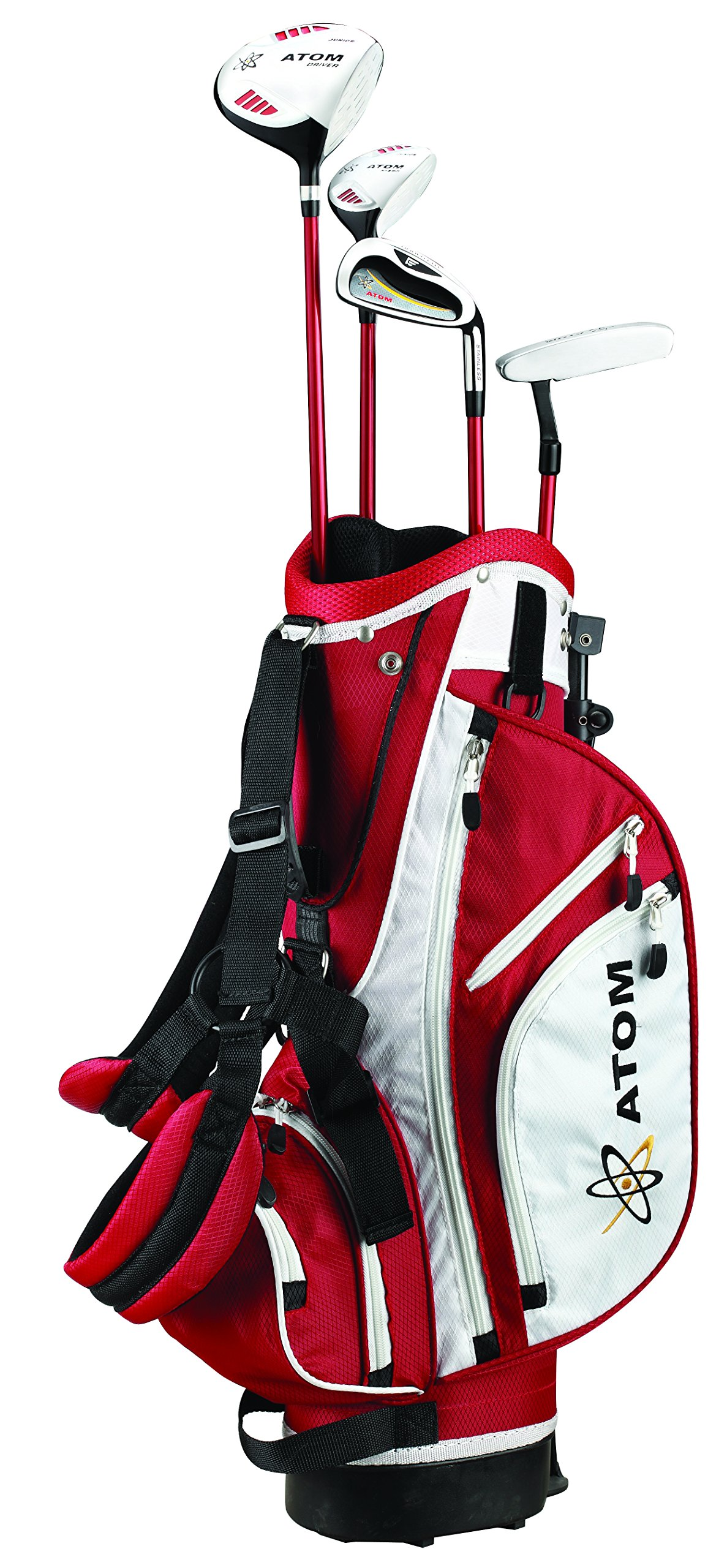 ATOM Complete Junior Golf Set, Youth 45-54'' tall, Ages 6 -10, Right-handed by Founders Club (Image #1)