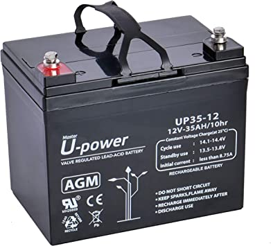 Master U-Power UP Bater/ía Plomo AGM 18Ah 12V