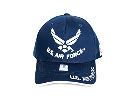 664536d8d9b Amazon.com   Fusion US Air Force Licensed Official 3D Embroidered ...