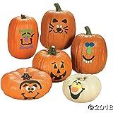 Foam Pumpkin Decorations Craft Kit Makes 12 Pumpkins