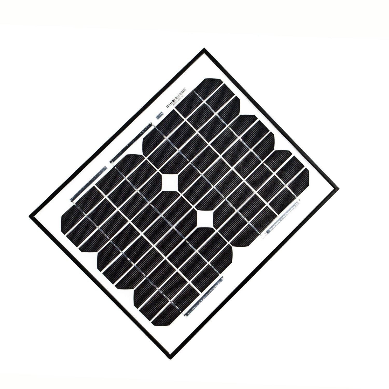 ALEKO 10W 12V 10-Watt Monocrystalline Solar Panel