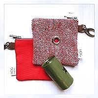 Easybag Red Tartan Style - Portasacchettini igienici per cane