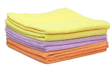 6 Paquetes gamuza de toalla de cocina plato de lavado (trapo para secar y limpiar