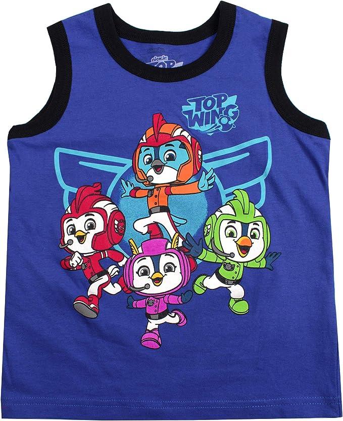 Nickelodeon Boys 3-Piece Shirts and Short Set Thomas Top Wing Rugrats