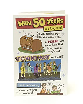 50th Birthday Card Funny