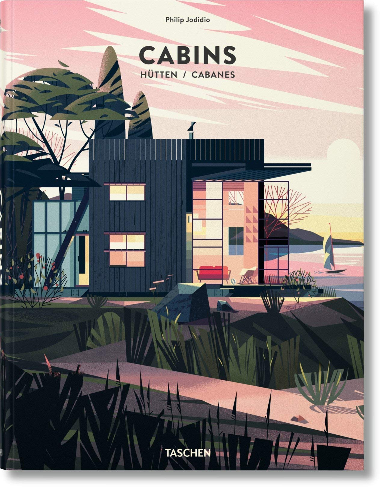 Cabins (VARIA) cabin coffee table book